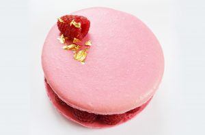 Giant Raspberry Macaron (collection only or local delivery)
