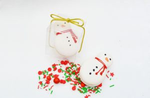 CHRISTMAS Favours – Mr. Snowman (min. order 4 boxes) – PRE-ORDER!