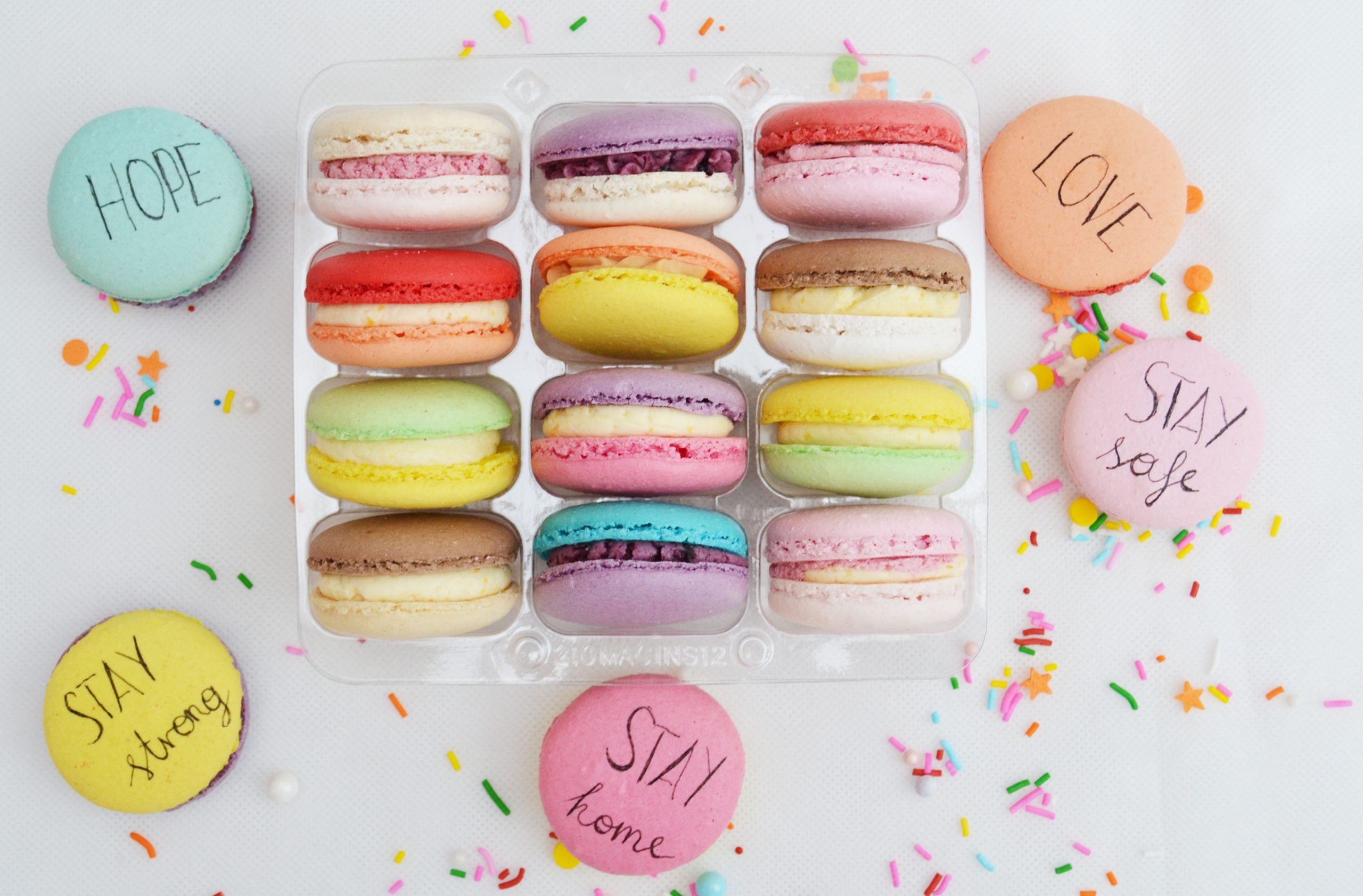 STAY SAFE MACARONS – special colorful collection!