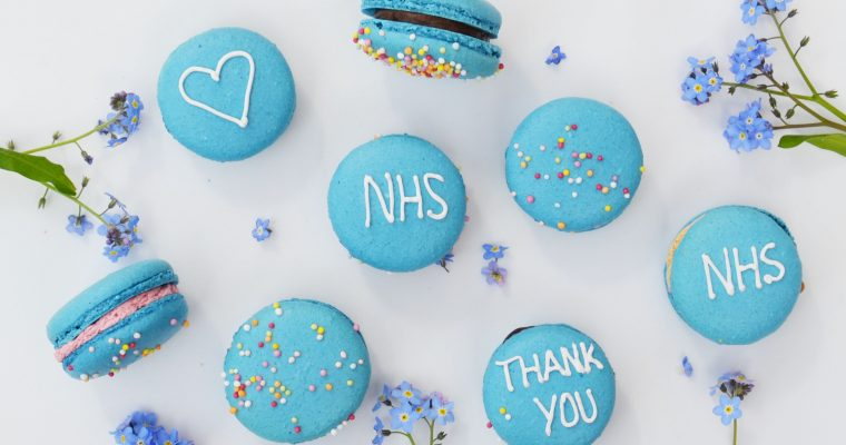 Bite the Macaron donated 500 french macarons for NHS Frontline workers.